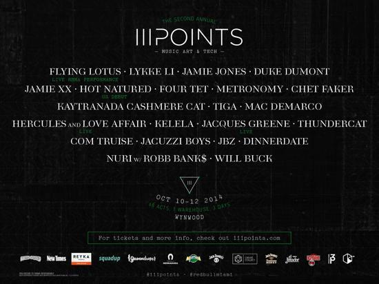 Premiere: III Points Festival Announces Impressive Lineup For Miami Event Featuring Jamie XX