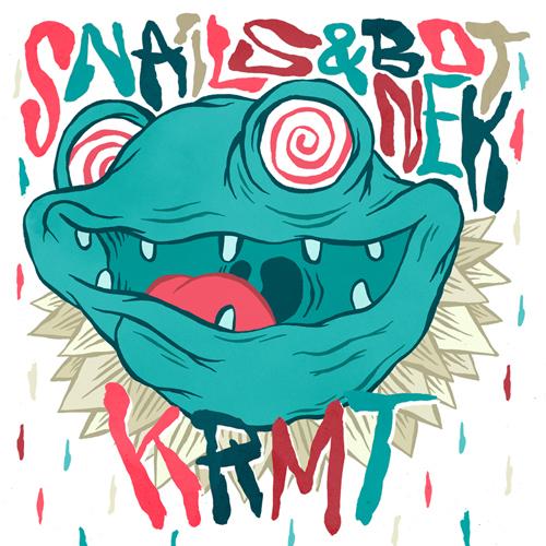 "[PREMIERE] Snails and Botnek Team Up For a Brutal Electro House Original ""KRMT"" with [Free Download]"