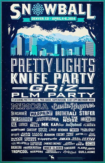 [PREMIERE] SnowBall Music Festival 2014 Announces Huge Lineup For New Denver Location