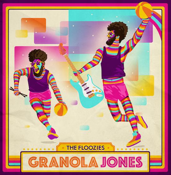 [PREMIERE] The Floozies - Granola Jones : Electro Funk via GRiZ' All Good Records