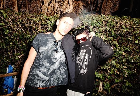 Skrillex and Boys Noize drops off massive Dog Blood - Coachella Live Set