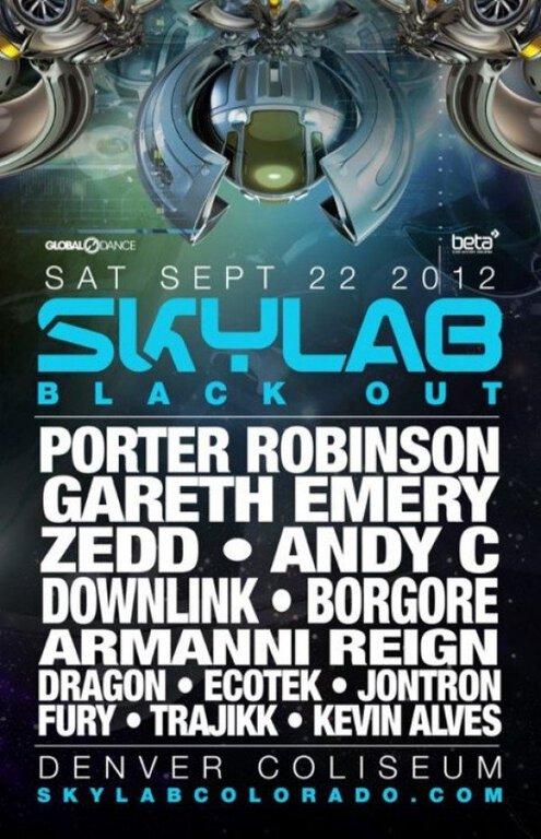 Skylab Blackout Music Festival : Porter Robinson