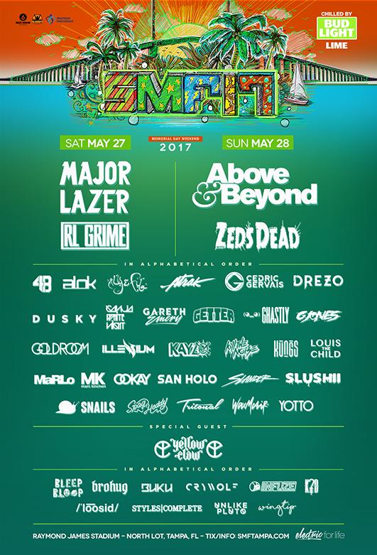 smf lineup 2017
