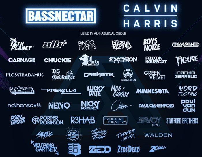 Spring Awakening Music Festival 2013 Lineup Phase 1 Announced : Massive EDM Festival feat. 100+ DJs