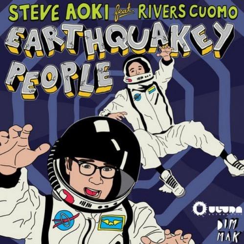 Steve Aoki ft. Rivers Cuomo - Earthquakey People (Dillon Francis Remix + Original) : Insane Electro House Song + Remix