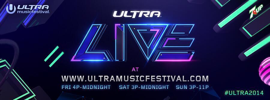 Stream Ultra Music Festival 2014 Across the World via Webcast