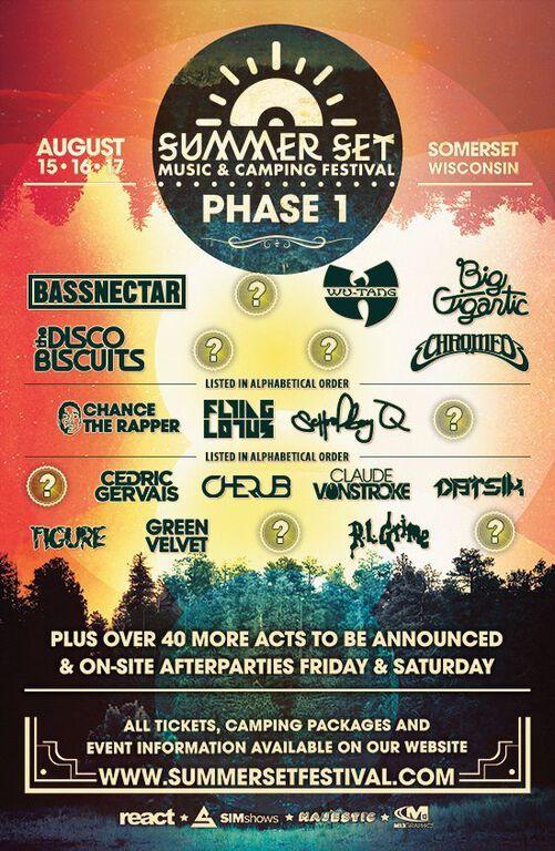 Summer Set Music & Camping Festival 2014 Packs Impressive Phase 1 Lineup