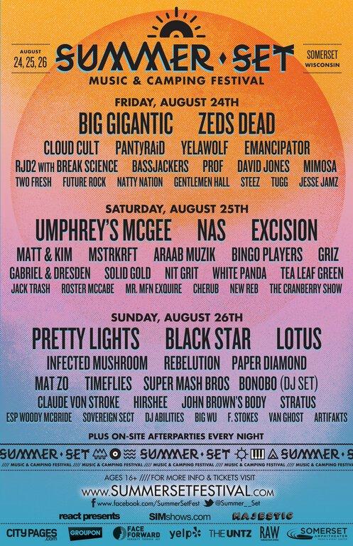 Summer Set Music & Camping Festival : Pretty Lights