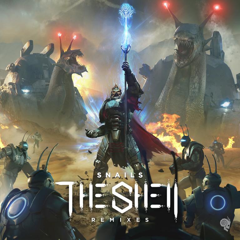 the shell remix album artwork