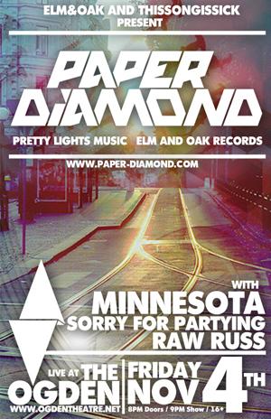 The Turnt Up Tour Webisode 1: HD Tour Recap Video Featuring Paper Diamond