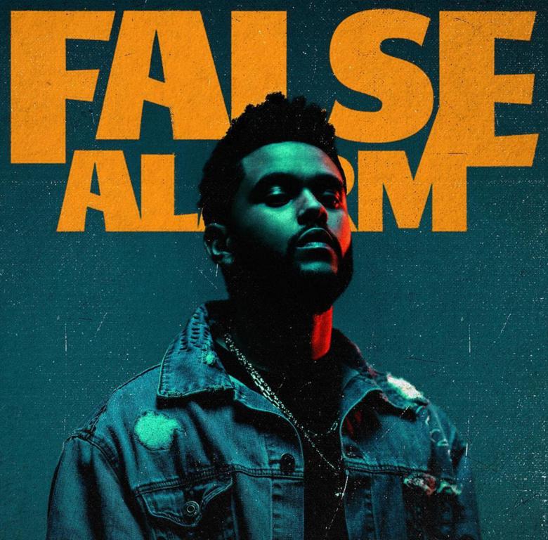 The Weeknd False Alarm Artwork