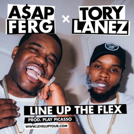 "Tory Lanez & A$AP Ferg Share New Single ""Line Up The Flex"" For Their Co-Headline Tour"