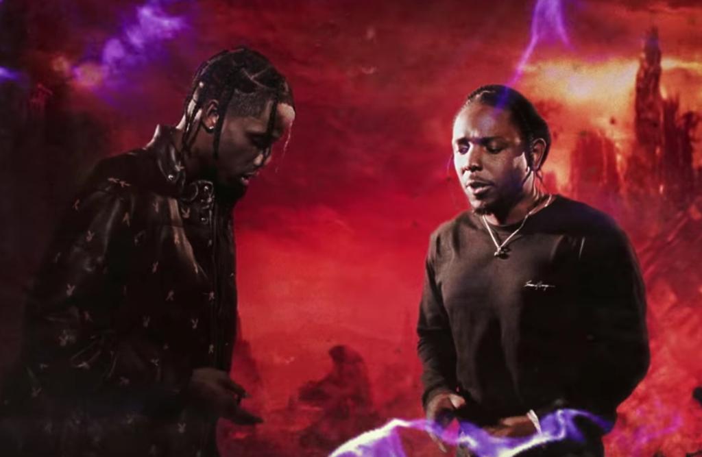 Travis Scott Kendrick Lamar