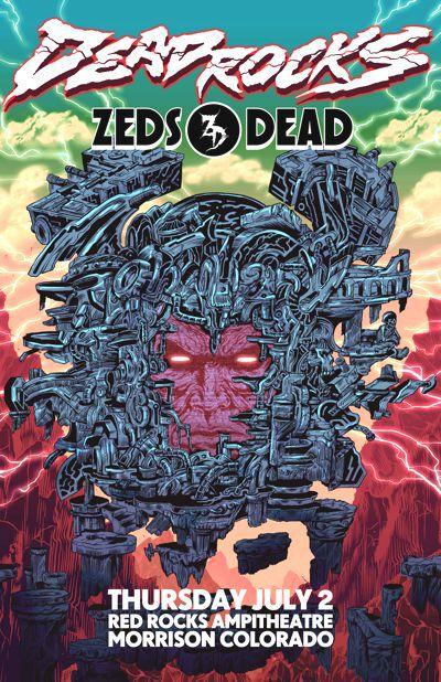 [TSIS PREMIERE] Zeds Dead Announces Dead Rocks 2015 At Red Rocks
