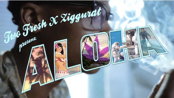 Two Fresh - Aloha (ft. Purpl Monk & Miyagi of ZIGGURAT) (Music Video) : Extra Fresh Chill Hip-Hop [Free Download]
