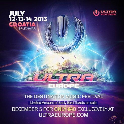 Ultra Music Festival Europe : Ultra Breaks into Europe with 5 Year Residency in Croatia