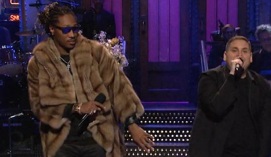 """Watch Jonah Hill & Future Rap """"Jumpman"""" on Saturday Night Live"""