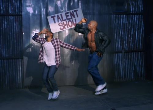 """Watch Kendrick Lamar Dance With Terry Crews In Hilarious 8 Minute Music Video For """"These Walls"""""""
