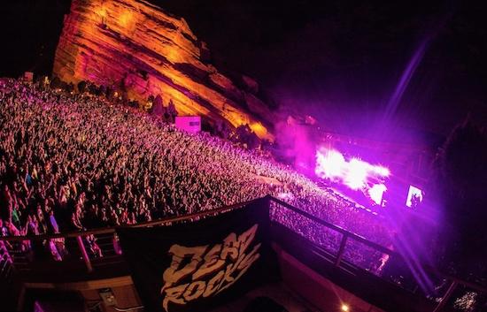 "Win A Super VIP Flyaway Trip To ""Dead Rocks"" at Red Rocks Amphitheater Ft. Zeds Dead"