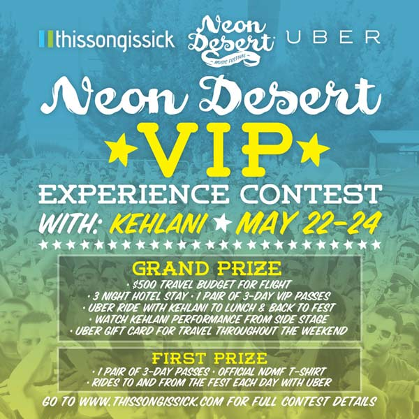 Win A VIP Flyaway Trip To Neon Desert Music Festival & Eat Lunch With Kehlani