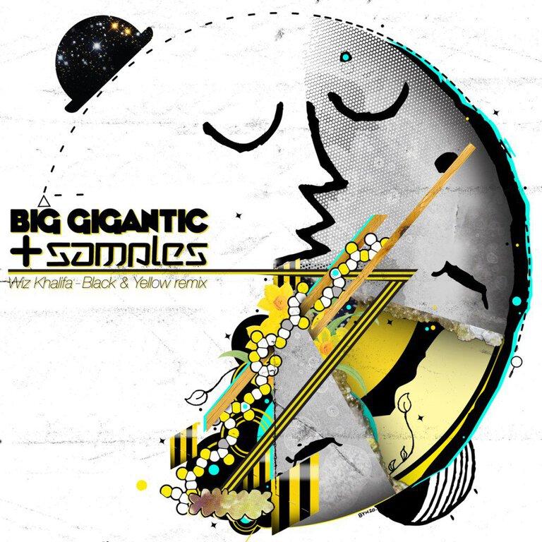 Wiz Khalifa - Black and Yellow (Big Gigantic + Samples Remix): MUST HEAR EXCLUSIVE REMIX