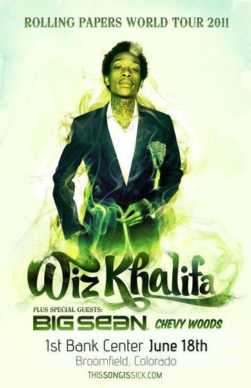 Wiz Khalifa - Fly You : Sick Chill Hip-Hop + Wiz Khalifa Concert Announcement