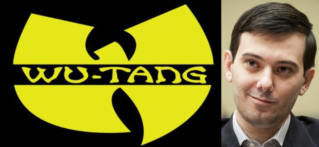 Wu Tang Clan Martin Shkreli
