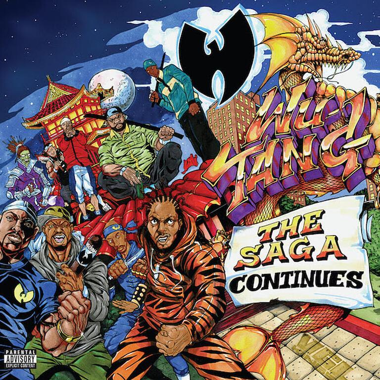 Wu Tang Clan The Saga Continues Art