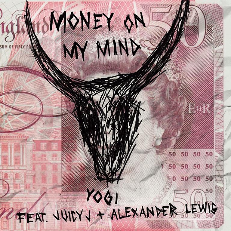 Yogi Money ON My Mind Juicy J Artwork