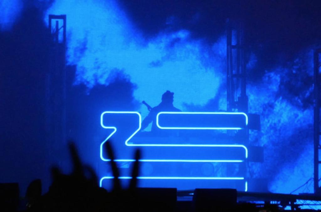 ZHU Blue Live Shot