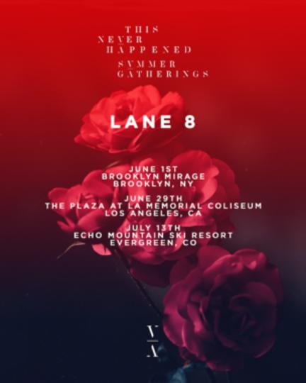 lane 8 2019 tour