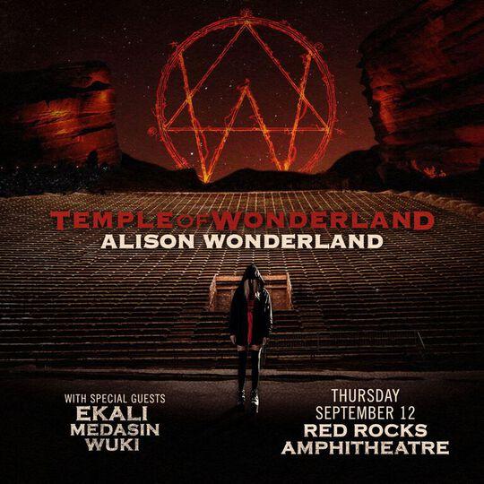 Alison Wonderland Red Rocks