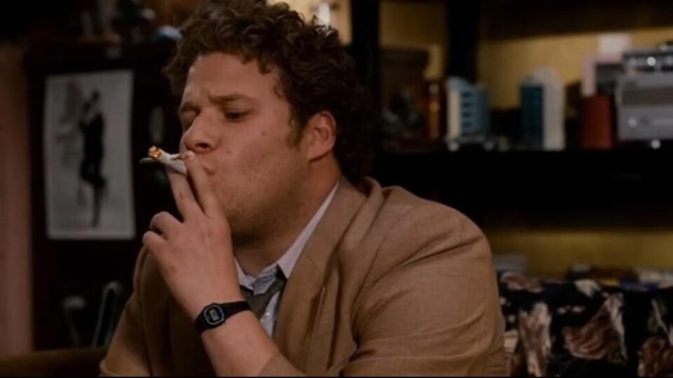 Seth Rogen Smoking