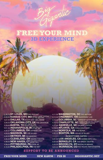Big Gigantic Sprng Tour Dates