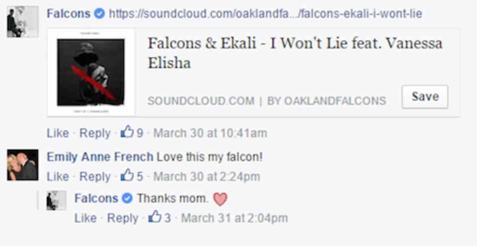 Falcons FB Screen SHot