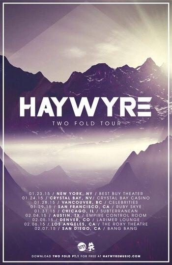 Haywyre Tour - Dates v3