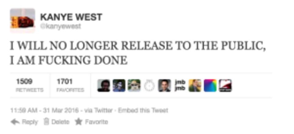 Kanye West rant tweet 10