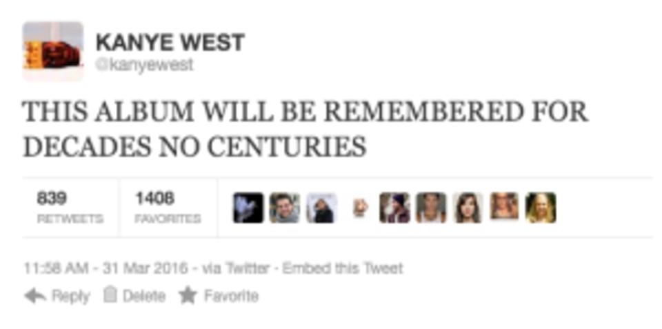 Kanye West rant tweet 5