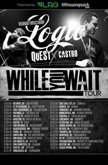 Logic---While-You-Wait-Tour-2014-poster