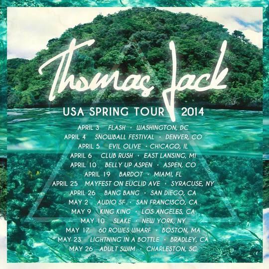 Thomas Jack - USA Spring Tour 2014