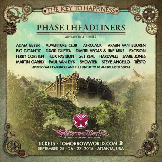 TomorrowWorld Lineup Phase 1