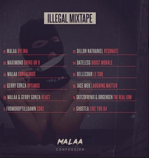 Malaa Illegal Mixtape [Cover Art]