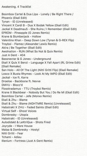 Ekali Awakening Mix 4