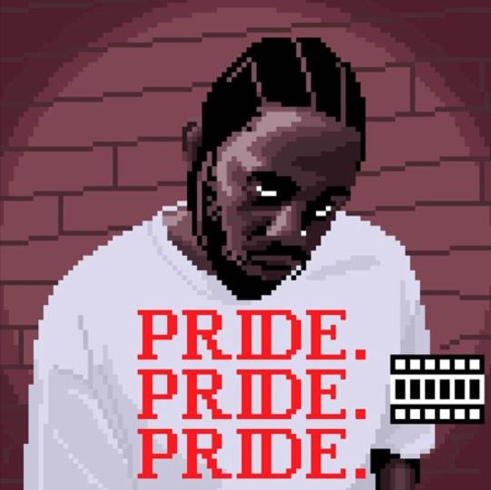 Kendrick Lamar Louis Futon Artwork