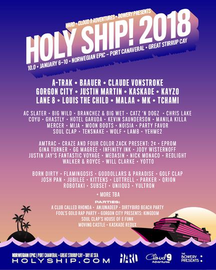 holy ship weekend 1 2018