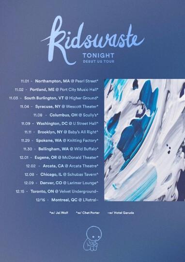 Kidswaste Us tour