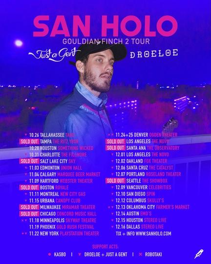 San Holo Tour Dates