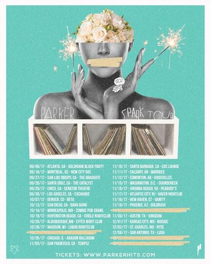Parker tour dates