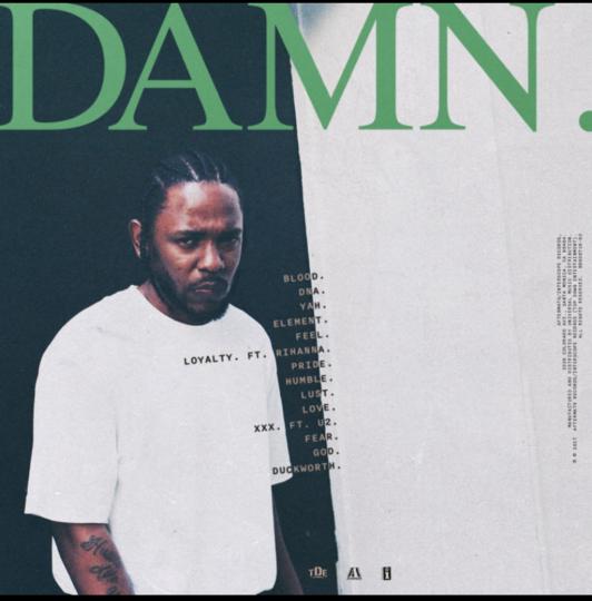 Kendrick Lamar DAMN. Tracklist