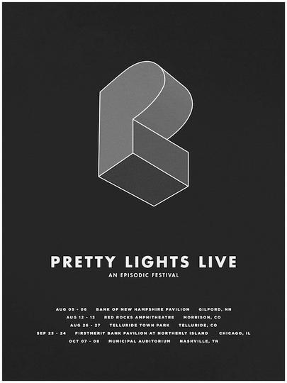 Pretty Lights Summer Tour Poster